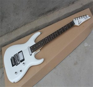 Free Shipping Factory Wholesale High Quality Korean Accessories JS2400 Joe Satriani White Electric Guitar with Vibrato