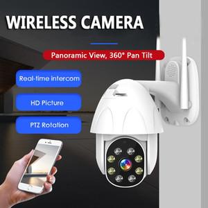IP Camera WiFi 2MP 1080P Wireless PTZ Speed Dome CCTV IR Onvif Camera Outdoor Security Surveillance 5X Digital Zoom exterior