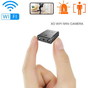 Motion Detection WIFI Security Camera Smallest HD 1080P XD Camcorder Night Vision Mini Cameras Housing Support 128GB TF Card