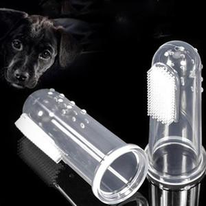 PET DE DINERO Cepillo de dientes Juguetes para perros Soft Finger Cepillo Perro Cepillo de Dientes Mala Aliento Atención Dental Tartar Pet Dog Limpieza SuministrosL DHC4541