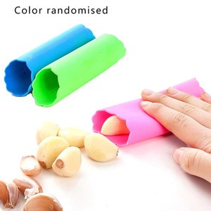 Garlic Peeler Silicone Easy Roll Tube Useful Garlic Kitchen Tool Easy to use Convenient Safe Non Toxic