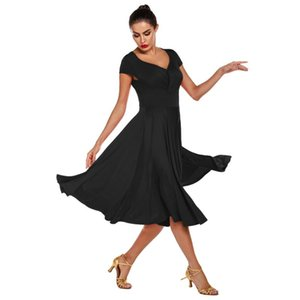 2020 new woman Latin dance dress adult ballroom dance Big swing skirt high quality costume drop shipping