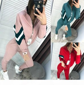 Women Clothes Two Piece Sets 2 piece woman set womens sweat suits joggers Plus Size foreign trade women's new sports and leisure set