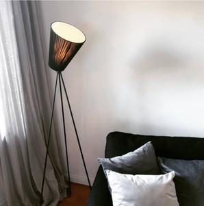 Nordic Designer Floor Lamp Modern Iron Tripod Floor Lamps For Living Room Bedroom Study Decor Creative Home E27 Standing Lamp
