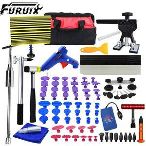 FURUIX Paintless DENT Remove Kits Auto Car Body Paintless Dent Repair Removal Tools Kit for Automobile Body