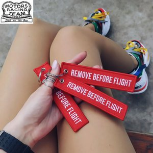 3PCS Backpack Pendant With Remove Before Flight Key Chains Aviation Gifts Key For Tag Women Bag Ornament bts acessorios