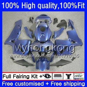 100% Fit For HONDA CBR600F5 CBR600 RR CBR600RR 05 48HM.218 CBR 600RR CBR 600 CC RR 600CC F5 05 06 Factory blue 2005 2006 Injection Fairings