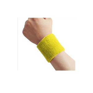 Wrintbands наручные потащики полосы Tennis yoga Unisex Terry ткань хлопчатобумажные пощающиеки браслеба цилвиз
