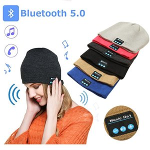 Bluetooth Hat Music Beanie Cap Bluetooth V4.1 Stereo wireless earphone Speaker Microphone Handsfree For All Smart Phone Music Hat