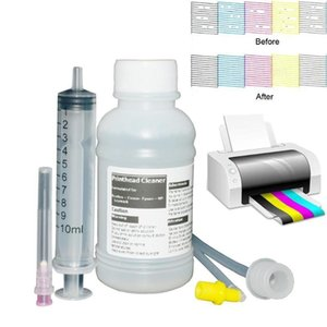Printhead Cleaning Kit for Canon Brother Lexmark Printhead Cleaning Liquid for Sublimation ink Pigment Dye ink 100ml1