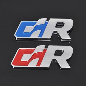 3D Metal Adesivo de Carro Emblema Emblema Auto Decalque para Volkswagen R Racing VW Golfe Passat Tiguan CC Sagitar Touareg Sr Acessórios