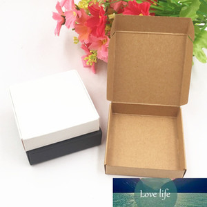 Kraftpapier Candy Box Quadratische Form Hochzeit Gunst Geschenk Party Supply Verpackungstasche 50 stücke Hochzeit Candy Box