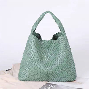 2021 New Woven Bag New Fashion Women's Picture-mother Bag Luxury One-shoulder Handbag Free Shipping