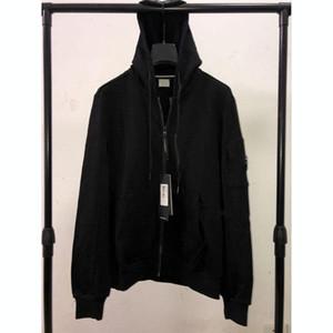 Vestes CP Mens hiver manteaux Marque Sweats à capuche Zipper Brise-vent Designers Veste Sweat-shirt Mens Luxurys Manteau à capuche Streetwear 20032803L