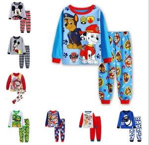 Konditionierung von Jungen Baumwolle Home Pyjamas Luft Kindertuch JumpingBaby