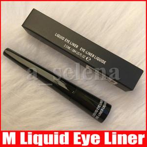 M composição do olho impermeável líquido deliner Eyeliner Liner fresco caneta de olho líquido preto com escova dura 2.5ml