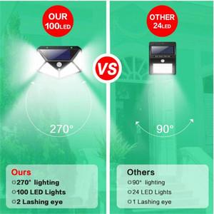 Lampes d'économie d'énergie Factory en gros Nationgrated Light Solar ABS Lampe d'énergie solaire pour la lumière extérieure solaire solaire