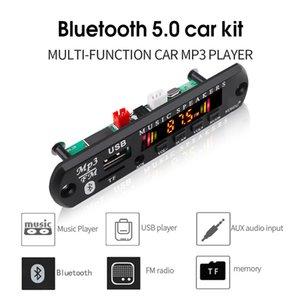 KEBIDU Wireless Bluetooth 5.0 MP3 WMA Decoder Board Car MP3 Player Audio USB TF FM Radio Module 5V 12V Remote Control For Car