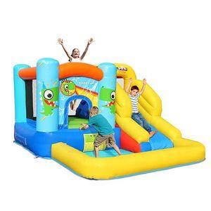 Inflável Baby Dinossauro Bounce Casa com Slide Garden Supplie Playground Bouncer Castelo Castelo Castelo Preço de Fábrica Slides Slides Combo PVC Happy Dino Casas