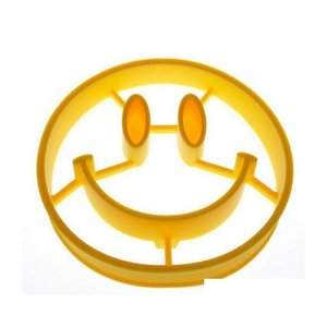 Delidge 1pcs Smiley Face Egg Mold Sile Smile Shaped Pancakes Omelette Device Egg Tool Kitchen Diy Creative F jllpBp jjxh