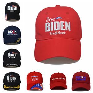 Biden Baseball Cap US Election 2024 Embroidery Letter Build Back Better Camouflage Snapback Hat Outdoor Sun Unisex Hats LJJP821