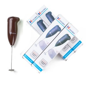 Acciaio inossidabile Plastica Elettrica Elettrica Cucina Palmare Egg Beater Beater Mini caffè caffè con agitatore di latte Pure Color 2 78TL J1