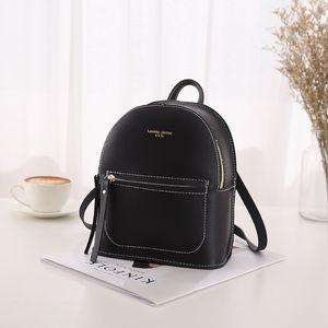 FANOUS marca pequena mochila para meninas adolescentes moda casual bolsa de ombro de couro mulheres 2019 mini bagpack pouco crianças bolsas
