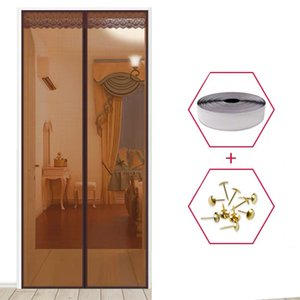 1PC High Quality Magnetic Mesh Screen Door Fly Bug Insect Mosquito Net Curtain Sheer Curtains