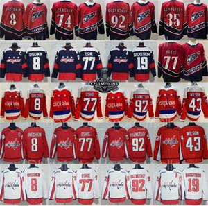 Revers Retro Washington Capitales Alexander Alex Ovechkin Jersey Hockey Tom Wilson Oshie Evgeny Kuznetsov Nicklas Backstrom Henrik Lundqvist