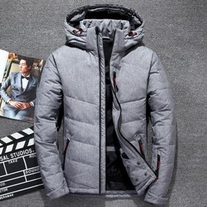 North The Winter clothing Men Down Jackets Parka keep Warm down Coat Softshell Hats thick outdoor outerwear face mens jacket M-3XL