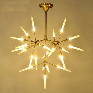 Art Design Led Lamp Ceiling Chandeliers Living Room Bedroom Dining Room Light Fixtures Lustre Decor Home Lighting G9 110-220V