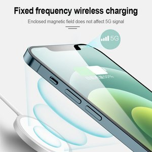 Designer Charger Official1:1 for iPhone 12 mini Pro Max 15W Wireless Magnetic Charger Qi Cell Phone Charger