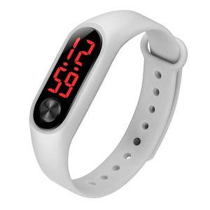 New Watches Ladies Men 'S Fashion Bracelets Bracelets Sports Electronic Watches Silicone Electronic Watches Sports Bracelets