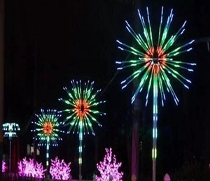 LED Fireworks Light Christmas Tree Light 20pcs Branches 2m Height Waterproof IP65 Outdoor Usage Drop Shipping Color Changing