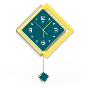 Clock Wall Clock Living Room Nordic Simple Home Decoration Fashion Creative Personality Watch Wall Luxury 37620
