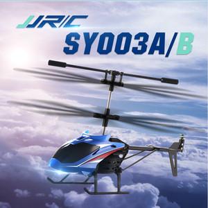 37G JJRC SY003A / B 3.5CH one-key décollage infrarouge de télécommande de télécommande d'hélicoptère Aircraft RTF pour Child Outdoor Model Toys Cadeaux Q1215