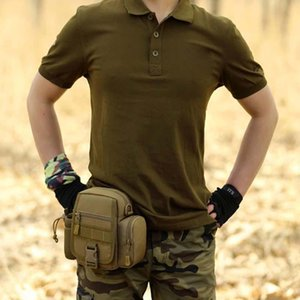 Outdoor Bag Pouch Tactical Waist Pack Camping Hiking Waist Water Bottle Belt Bags Camouflage Fanny Pack