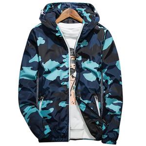 2020 Spring Autumn New Men's Zipper Jacket Men Long Sleeve Jacket Male Casual Camouflage Streetwear Mens Coat Men Clothing