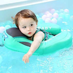 귀여운 아기 수영 반지 햇빛 스티어링 휠 안전 수영 플로트 비 팽창 식 수영 트레이너 풀 플로트 캐노피 수영 반지 J1210