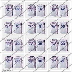 76erscrême PhiladelphiaHarris 21 Embiid 22 Thybulle 25 Simmons Basketball Jerseys Tobias Joel Ben Matisse Association Jersey