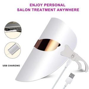 Korea design led pdt beauty face mask 3 colors Beauty Machine PDT Treatment Light Therapy Led Facial Mask