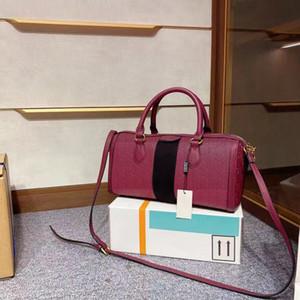Classico Designer di lusso Ophidia Boston Donne Borsa di modo con bobina diamante reticolo con spalla tacchini da cuscino vintage borse vintage