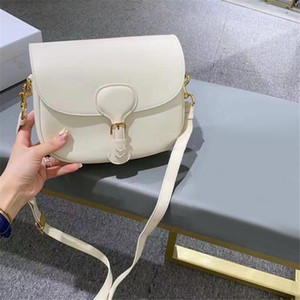 2021 New Hot Designer Luxury handbags Purses Women Shoulder bag Genuine Leather with embroidery Cross-Body Saddle Handbag High Quality Bag
