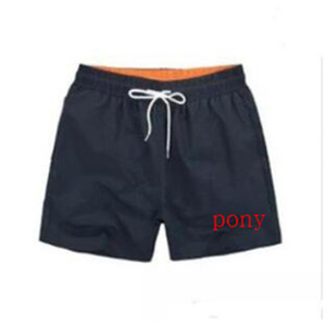 Summer pony embroidered beach pants for men Breathable Quick Dry SwimWear Printing Board Beach Pants Mens Swim surf Shorts