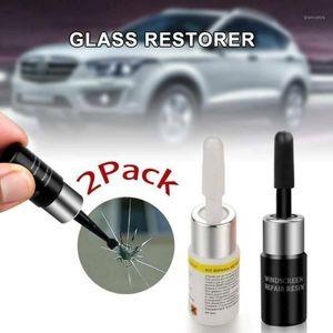 Venta caliente 2 PCS Coche Automotriz Reparación de vidrio Kit de fluidos Ventana Crack CHIP CHIP Herramienta de reparación Set Venta al por mayor1