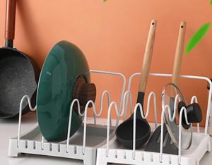 Adjustable Kitchen, seat-type pot cover frame, multi-functional kitchen storage, cutting board frame, Pan, shovel drain box