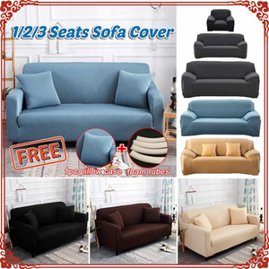 Elastic Cover for Sofa Living Room Couch Cover Sectional Sofa Slipcover Armchair Spandex Stretch 1 2 3 4 Seater