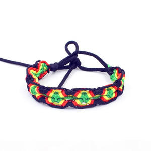Fashion Jewelry Weave Rope String Friendship Bracelets Embroidery Handmade Bracelets for Women
