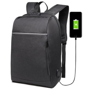 Brand 15.6 inch Laptop Backpack USB Charging Anti-theft Men School Bags For Teenage Boys College Travel Backpack Male Mochila