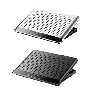 Laptop Aluminiumlegierung 6 Getriebe einstellbare Kühlerstütze still tragbarer Kühler B95C1